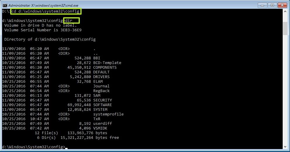 Windows 10 Config folder